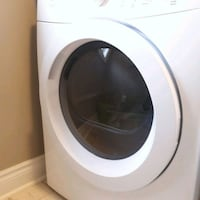 white front-load clothes washer Brampton