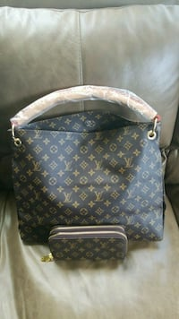 brown Louis Vuitton leather tote bag Knoxville, 37918