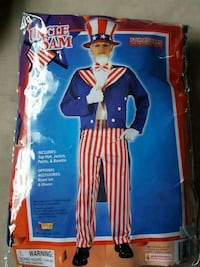 Uncle Sam Adult costume  Freehold, 07728