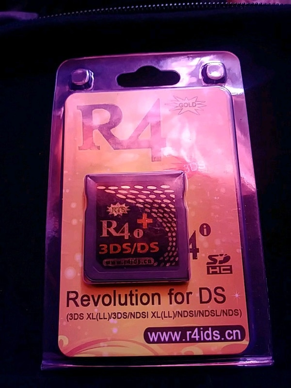 Nintendo 3DS/2DS hack R4i gold plus flashcart