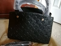black leather lv,bag Mississauga, L4Z 3M4
