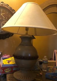 white and brown table lamp Metairie, 70005