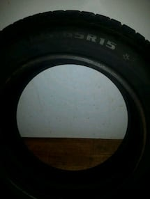 185 65r 15 winter tires used half a winter brand new