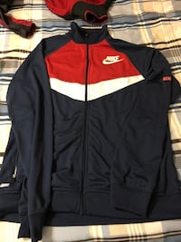 black and orange Adidas zip-up jacket Fall River, B2T 1P5