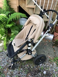 baby's gray and black stroller Vancouver, V5T 2R7