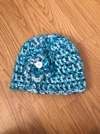 blue and white knit cap Reno, 89506