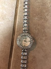 silver-colored analog watch with link bracelet Portland, 97229
