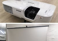 (FOR RENT)Projector and Screen NEWYORK
