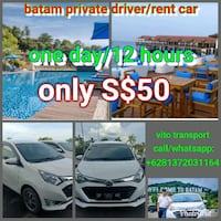 white vehicle collage advertisement