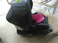 baby's black and pink car seat San Antonio, 78223