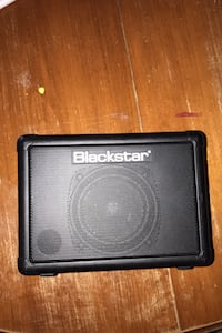 Black star mini acoustic electric guitar amp