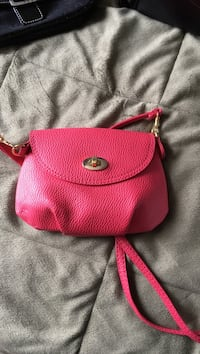 pink leather sling bag Conception Bay South, A1W