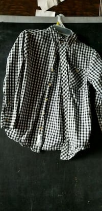 white and black plaid dress shirt Frederick, 21704