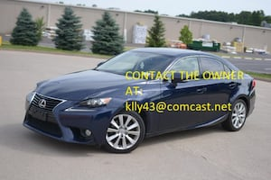 2014 Lexus IS 250  AWD NICE AND CLEAN