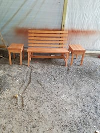 Bench with 2 Tables Adairsville, 30103