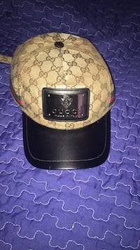 brown and black Gucci monogram cap Montreal