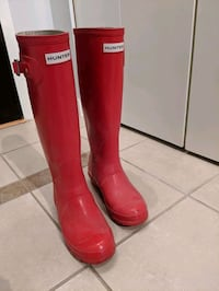 Knee-high Hunter waterproof boots Vancouver, V6Z 3H8