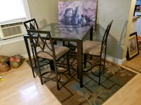 Dining Room Set, Area Rug, and Picture  Schaumburg