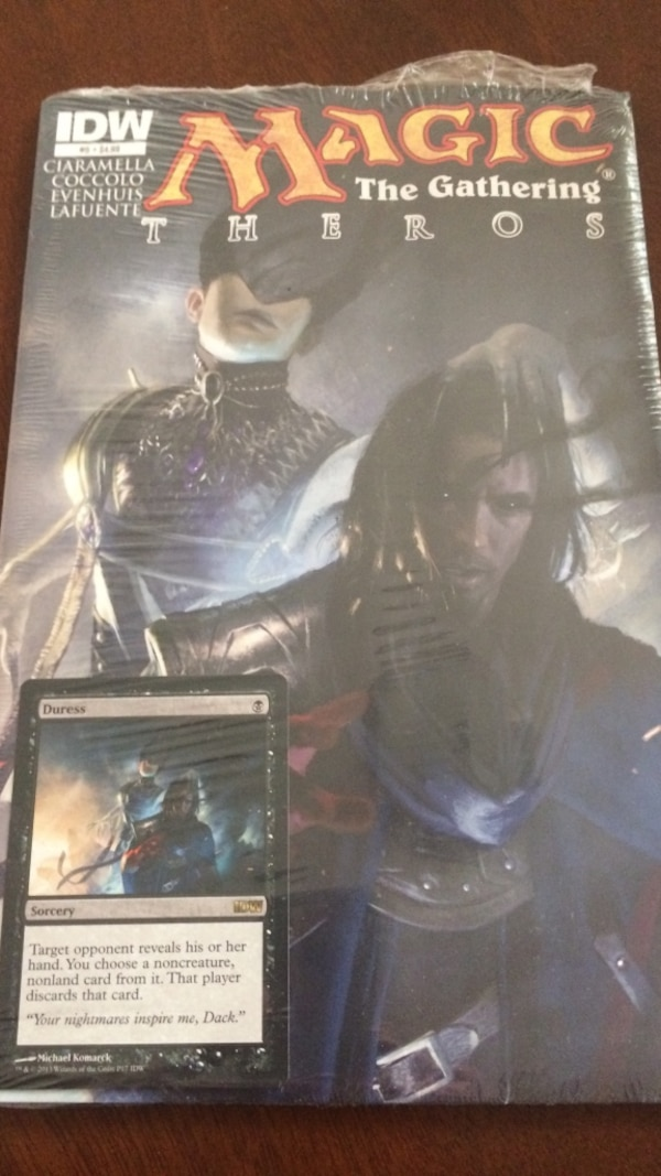 Used Idw Magic The Gathering Theros For Sale In Pensacola Letgo
