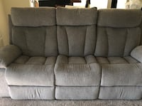 Reclining Sofa with Drop Down Table Fairfax, 22033