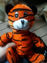 orange and black tiger plush toy Los Angeles, 90033