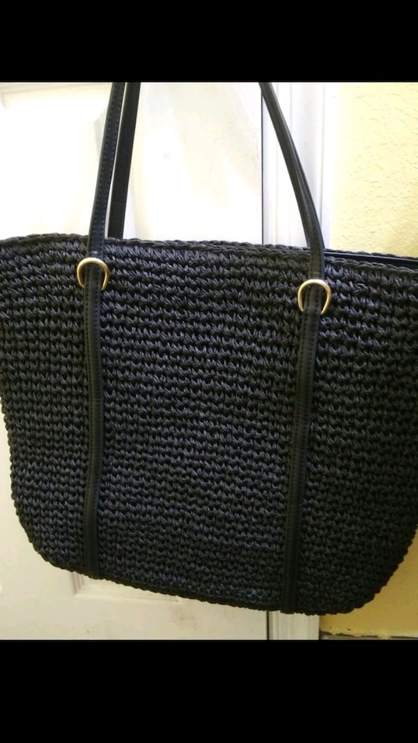 Ralph Lauren Black Tote Bag 1