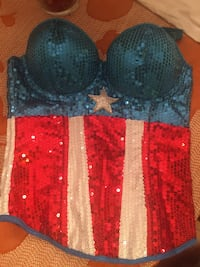 Halloween costume. Ladies Marvel top. Size small. Brand new. Paid $45.  Knoxville, 37918