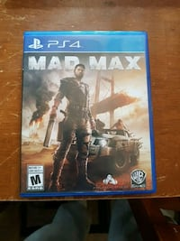 Sony PS4 Mad Max case Windsor, N8W 5L8