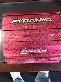 Pink Pyramid audio amplifier