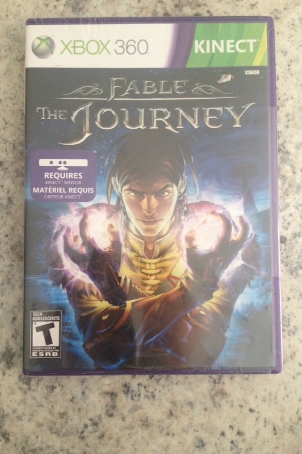 Xbox 360 Kinect Fable the journey Brand New In Package