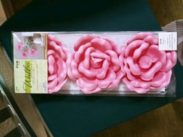 New Flower Wall Decorations
