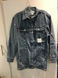 Oversized denim jacket Ottawa, K2E 6V8