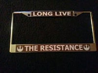 Star Wars Car Plate Frame Cover  Fort Myers, 33913
