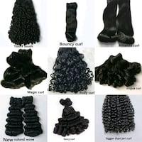 women's black hair extensions