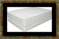 King double pillowtop mattress with split box East Riverdale