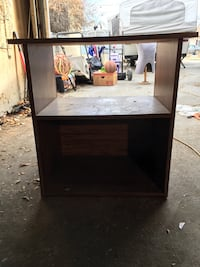 2- side tables or tv stand.  Cash only