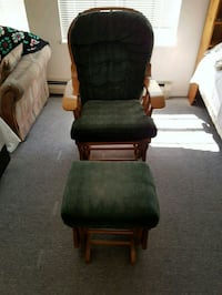 Gliding Rocking Chair & Gliding Ottoman Stool  Surrey, V3W 3A6