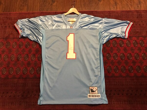 online retailer cc82c 3f9fa Brand new authentic mitchell ness Warren Moon Oilers football nfl jersey  throwback