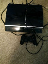 black Sony PS3 original console with controller Pickering, L0C