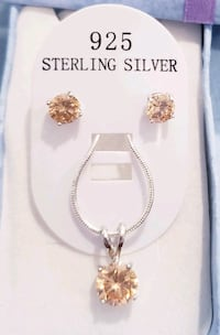 Beautiful 925 sterling silver champagne set Omaha, 68137