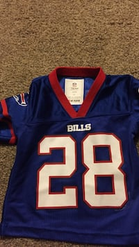 blue and red NFL jersey Baldwinsville, 13027
