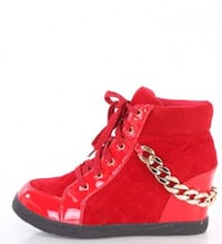 Red Wedge Sneaker LITTLERIVER