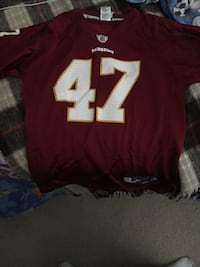 Redskins jersey 47 Chris Cooley Rockville, 20850