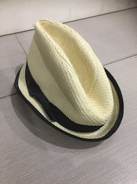 Brown and white fedora hat Vancouver, V5R 4H2