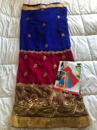 BRAND NEW Saree with Blouse Material Markham, L3R
