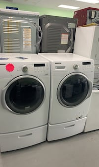 Clearance Samsung washer and dryer set free delivery