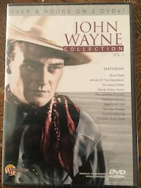 John Wayne DVD. 9 hours of classic films sealed never opened.