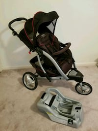 Graco Stroller with Carseat Bumper