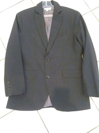Charcoal notch lapel suit jacket  Los Angeles, 91356