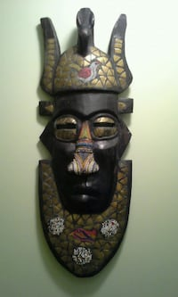 black and brown tiki mask Alexandria, 22310